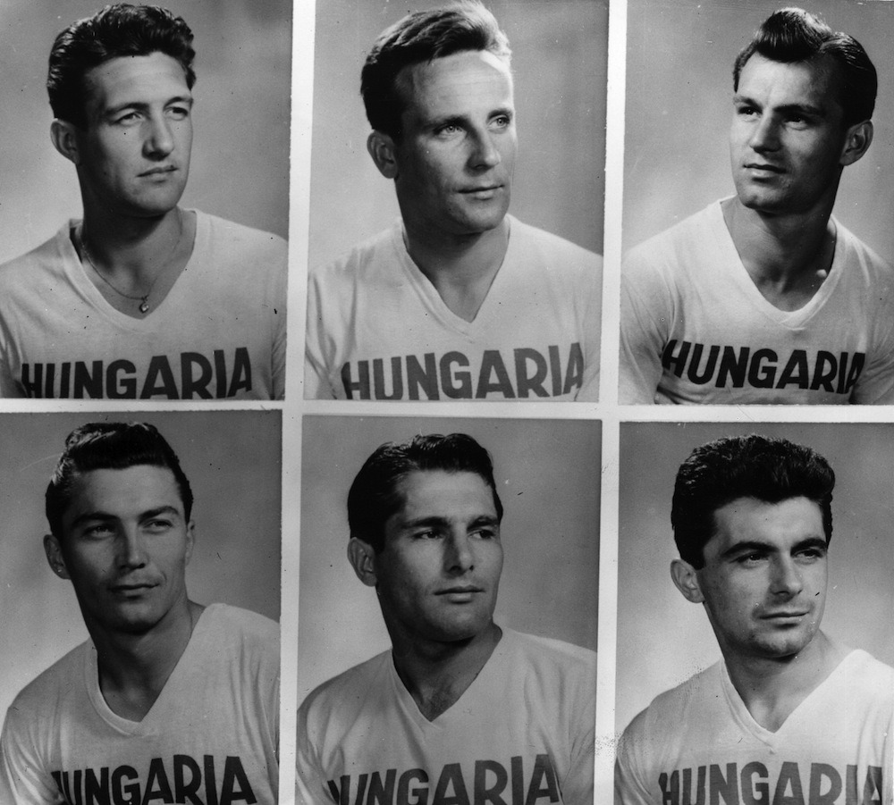 thefootballarchivist:  1958: Pen pics of the Hungary squad for the '58 World Cup finals.
