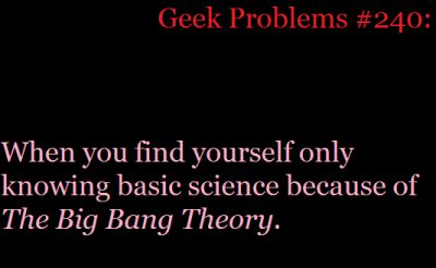 Geek problem submitted by thefightforwhatisrightison
