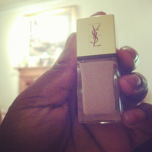 Favourite nail varnish right now! YSL's 'beige leger' (Taken with instagram)