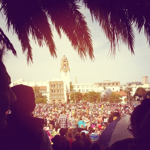 So. Many. People. (Taken with instagram)