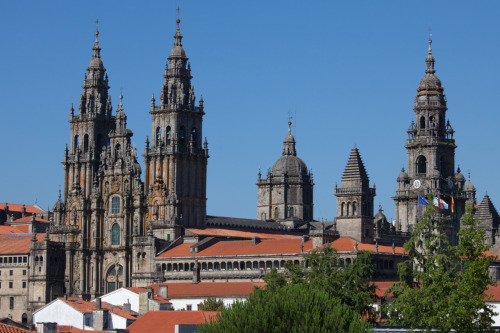 Cathedral of Santiago, Spain from wikimedia