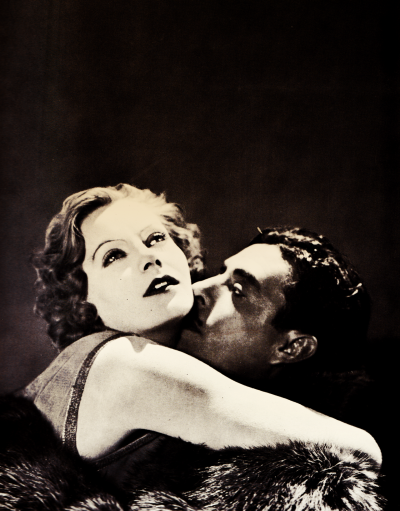 bobertsbobgomery:  Greta Garbo and John Gilbert in Flesh and the Devil, 1927