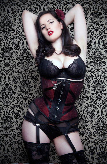 Note to self: Visit Etsy more often. Corset by Exquisite Restraint