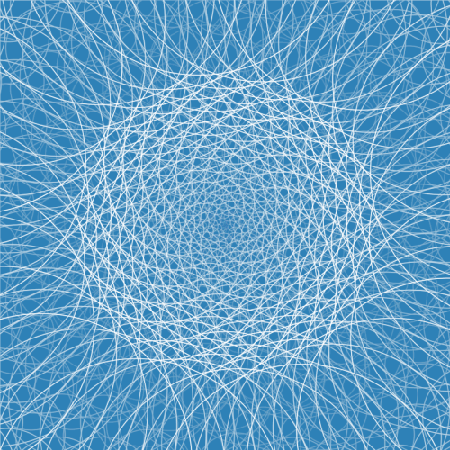 kingcreative:  FIbonacci Spirals Built with Processing