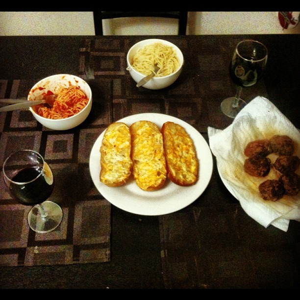 Best Easter dinner I've had since moving away from home (Taken with instagram)
