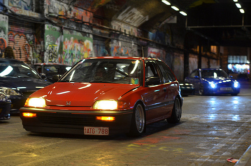Pictures from Last night in London. Old School EF, Graffiti tunnel.