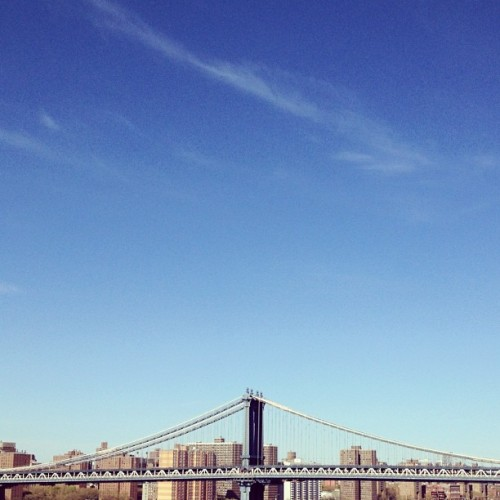 Bridge o'er Manhattan (Taken with instagram)