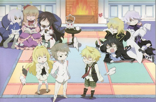 blackrabbitusagi:  Family Reunion When You Cant Get Enogh Family Time  what is that puff of air at oz's backside? oz are you farting?  rude
