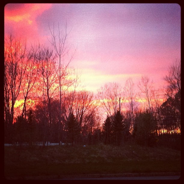 Easter sunset (Taken with instagram)