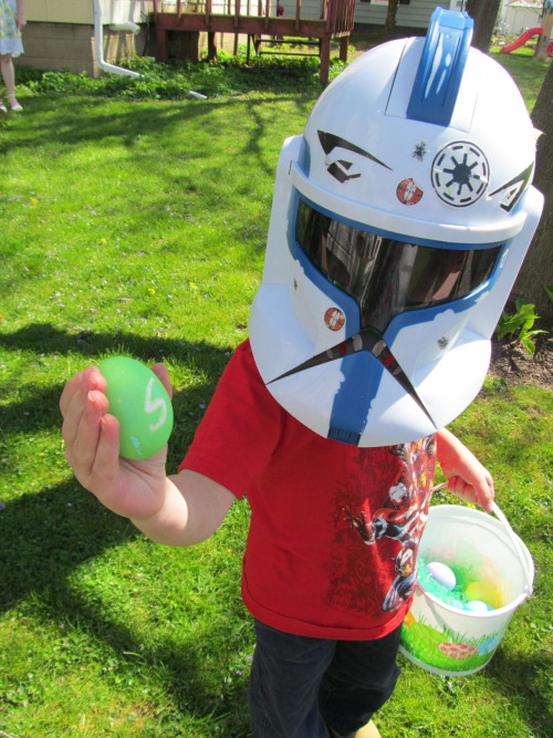 A Star Wars egg hunt.