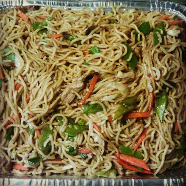 And lastly, PANCIT! #Filipino #FoodPorn  (Taken with instagram)