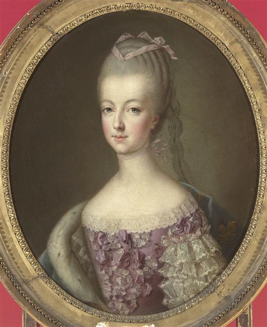Francois Hubert Drouais, 1773. Dauphine of France, Marie-Antoinette