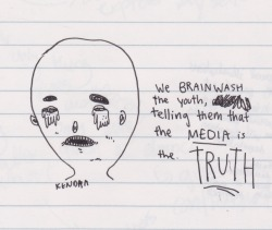 Mass media. Currently brainwashing the American who pays attention to what they show us.