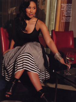 modelsofcolor:  Anansa Sims in the May 2010 issue of Essence Magazine.