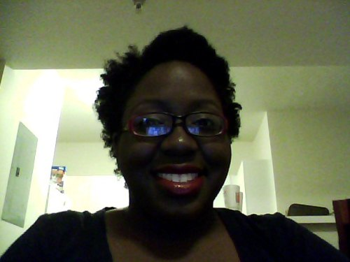 thecurvaceousconfidence:  astuteliving:  I bought some new red lipstick. It's called Eldorado and I am in love <3 I  This is my awesomely cute friend Amanda, oh heyyy(:  just when i think my littles can't get more lovely, they do.