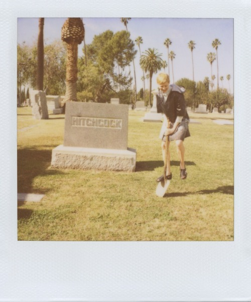 Michelle Williams for Band of Outsiders.
