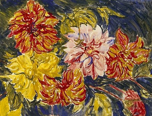 Jacob Epstein Dahlias 1930-39