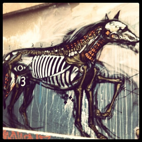 Hosier lane #melbourne #streetart (Taken with instagram)
