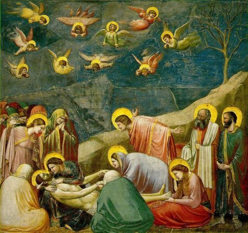 Giotto, Lamentation (The Mourning of Christ), c.1305.