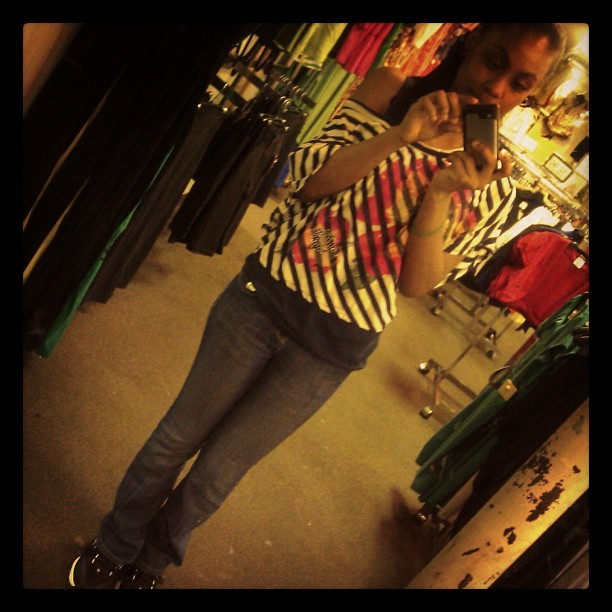 -Birthday outfit 💙 3.25.12 (Taken with instagram)