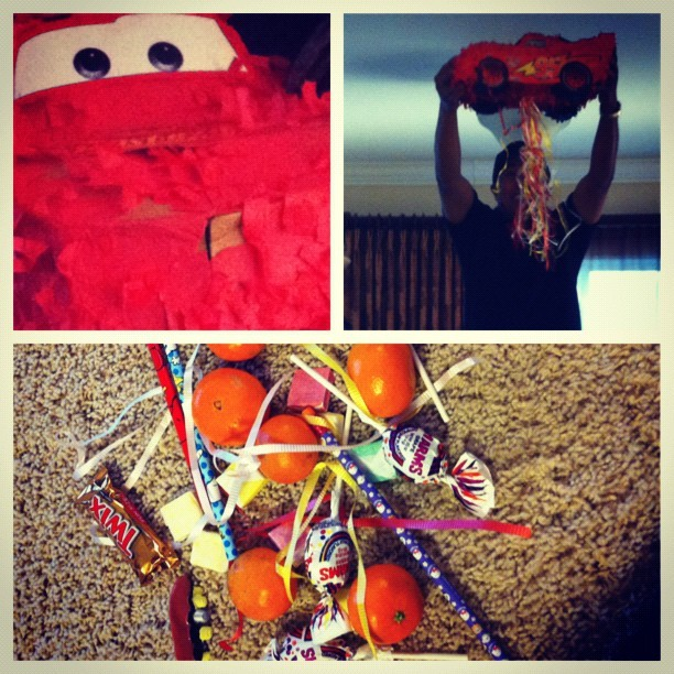 piñata fun with the family!! 🎉 (Taken with instagram)