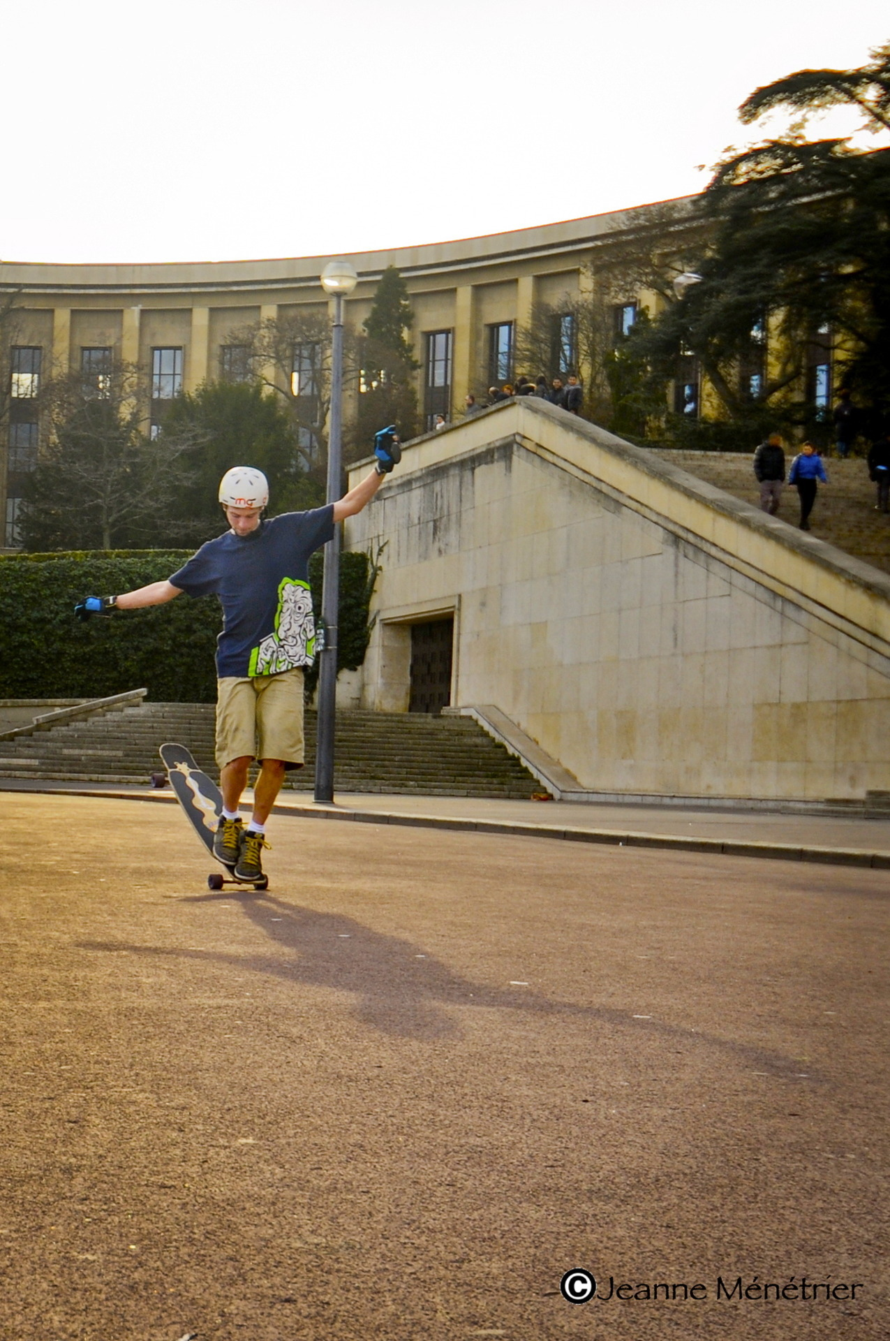emgeemann:  Paris Hang Ten. Paris, France. Rider: Mike Girard. Photo: Jeanne Ménétrier.