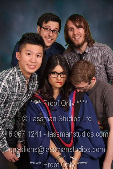 mattdemers:  On a lighter note, here's where I crash Big Fists' grad photo with Matt, Max and others.  These are my friends.