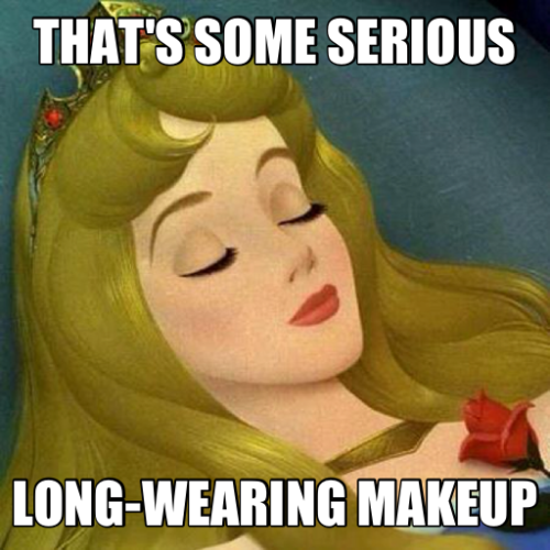 How long was that girl asleep? And her mascara & lipstick are still flawless? Smooth complexion? I must know the brand!