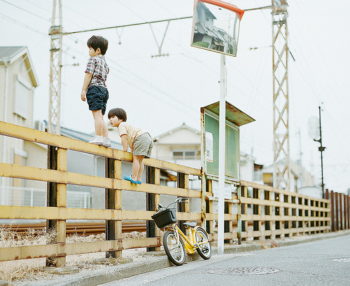 jusfornow:  Livin' on the edge By Hideaki Hamada on Flickr