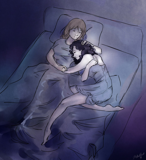 kirbyhasapencil:  The world needs more Femlock cuddles.