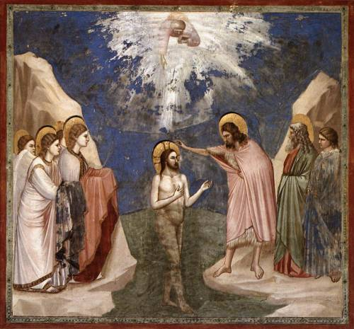 Giotto, The Baptism of Christ, c.1305.