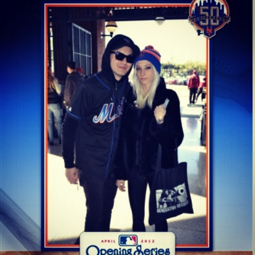 Stole this from the Mets website. Teehee. 👿 (Taken with instagram)