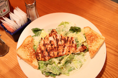 Chicken Caesar Salad  by AlBargan on Flickr.