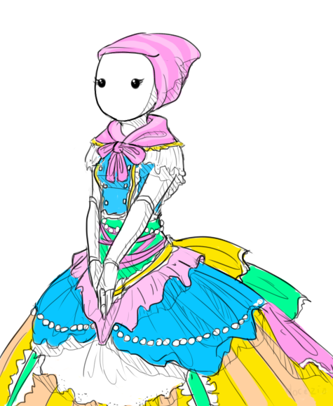docezio:  this design is so pretty i did it no justice ahhh