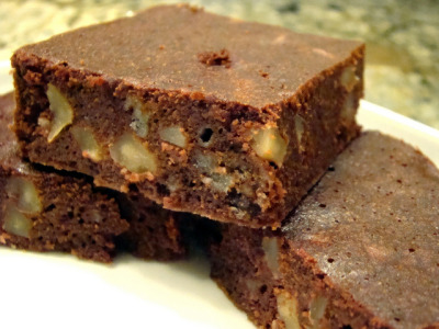 Sugar Free Vegan Walnut Brownie on Flickr.yes!