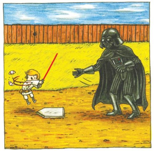 If Darth Vader was a good father.