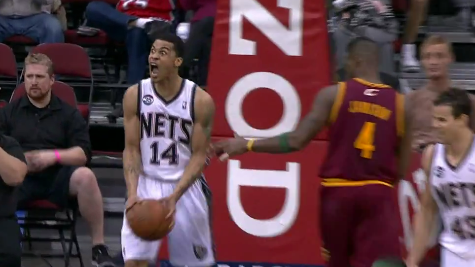 Gerald Green after an alley-oop today.
