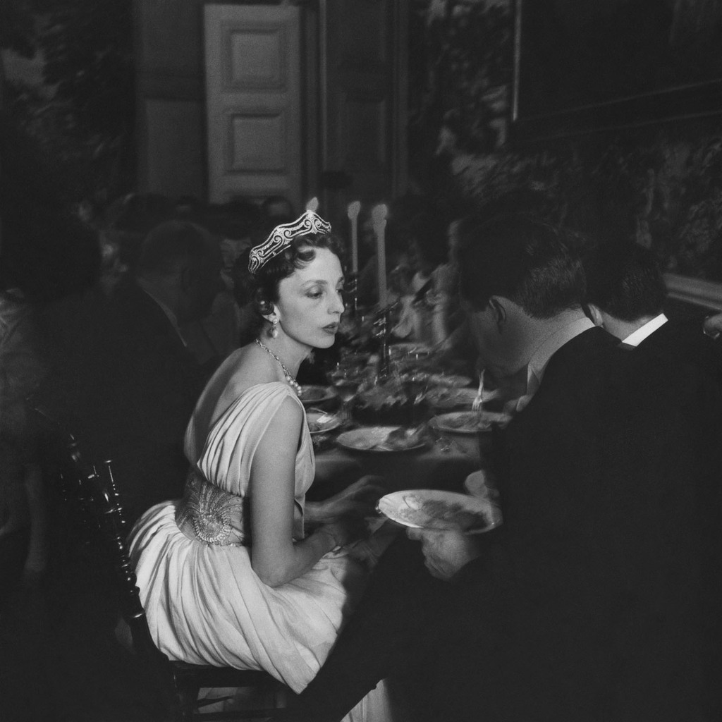 Comtesse de Bourbon-Busset, Chateau de Groussay, May 1957 Photo by Robert Doisneau