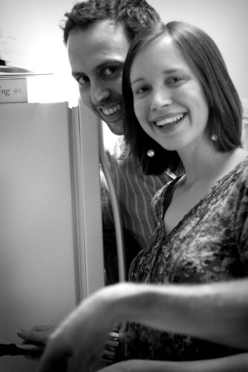 Adam & Laura come over for dinner | March 31, 2012.