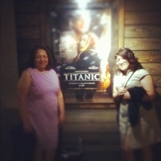 Mom and sis..  (Taken with instagram)
