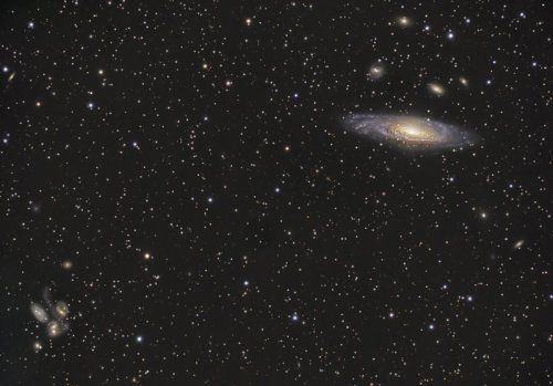 n-a-s-a:  Galaxies in Pegasus  Credit & Copyright: Dietmar Hager