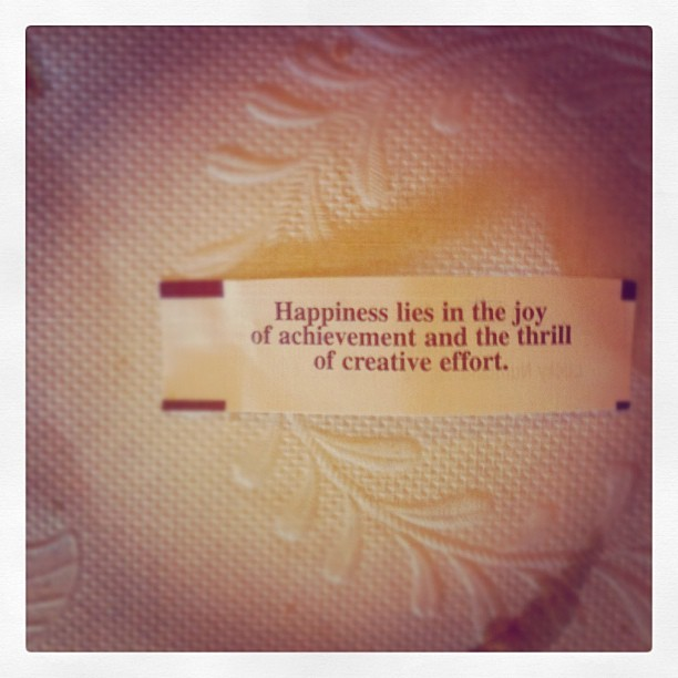 Easter fortune. (Taken with Instagram at Kim Son Restaurant)