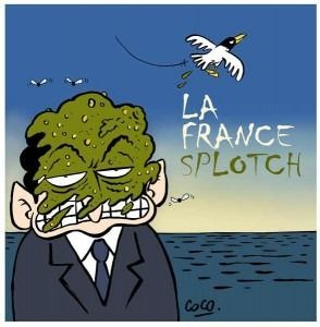 La France Splotch - par Coco (via Strips Journal) #Fianteorte