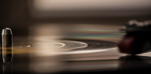 photographyoverdose:  A spinning record