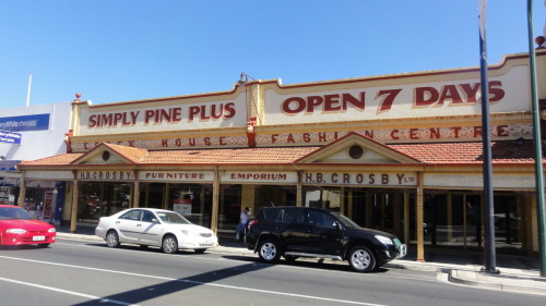 Closed Simply Pine Plus furniture store on Murray Street in Gawler town centre. Is Gawler's economy that depressed? I want to see Gawler stay alive.