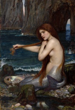 """A Mermaid"", 1901, John William Waterhouse"