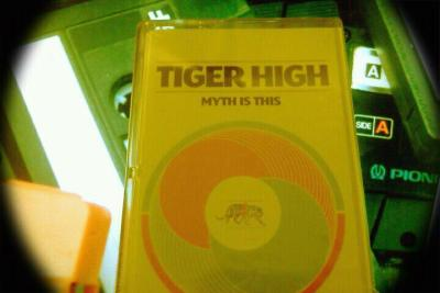 "Tiger High ""Myth Is This"" on a sweet High Quality Cassette ! Trashy Creatures Records + Burger Records = Ears Full of Sweetness !"