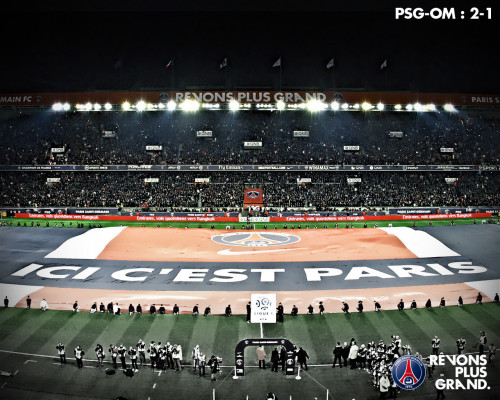 PSG 2-1 OM, 08.04.2012 The feeling when your team win a Clasico… PARIS EST MAGIQUE ♥