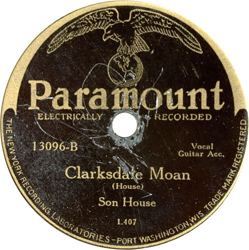 RECORD COLLECTOR HOLY GRAIL Son House - Clarksdale moan listen here