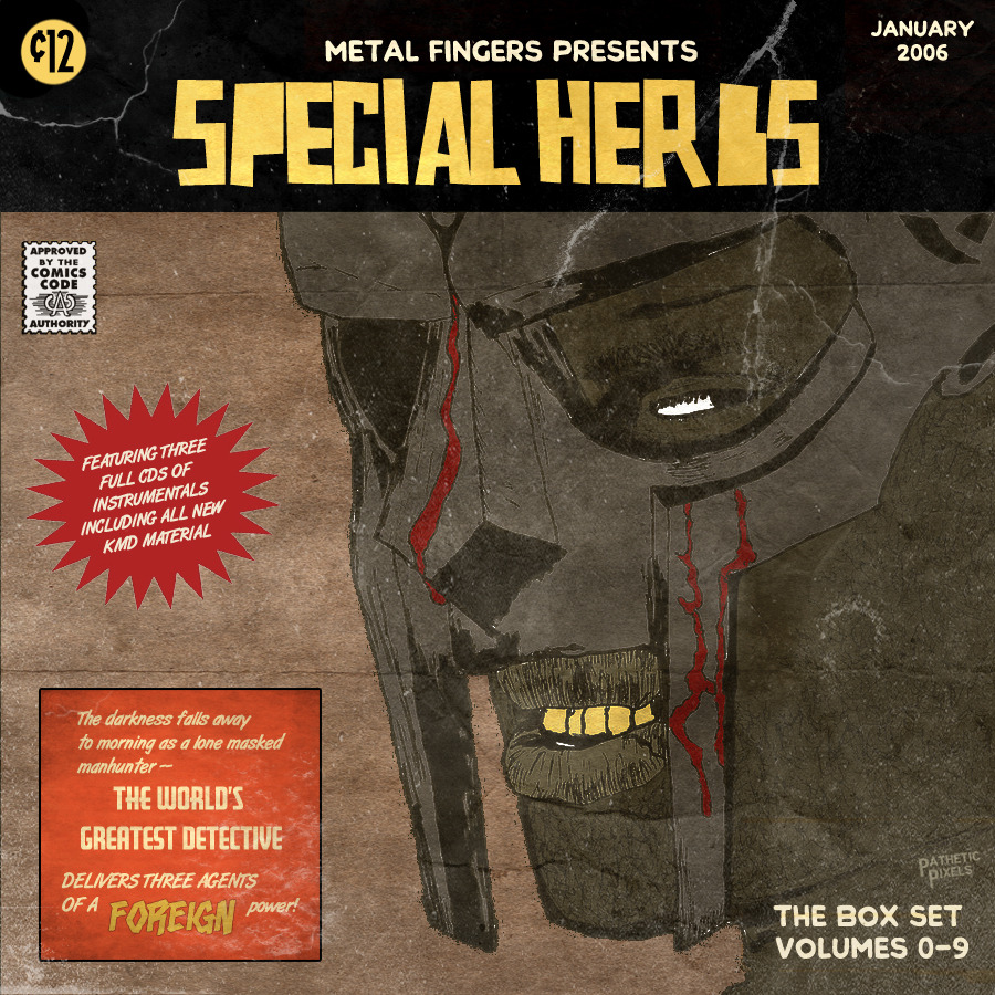 patheticpixels:  MF DOOM - Special Herbs Box Set